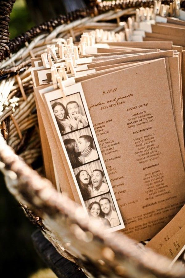 Vintage rustic wedding invites for Farm Wedding