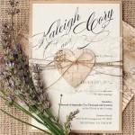Top 15 popular rustic wedding invitations idea samples on Pinterest