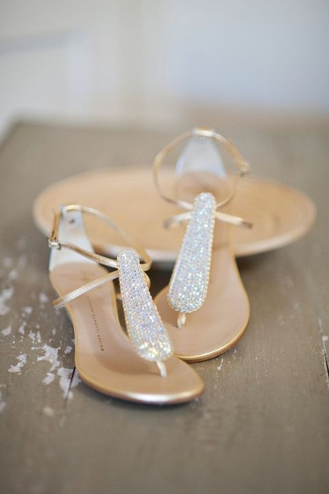 28 most popular wedding shoes for brides 2017 beach wedding shoes ideas junglespirit Images