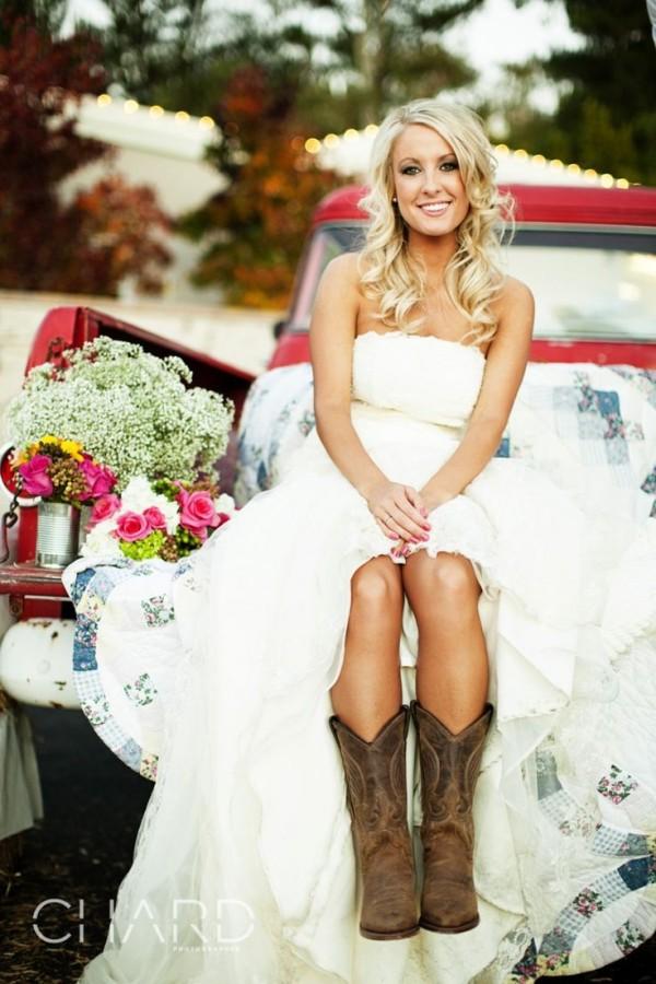 vintage Country Wedding Dresses Inspiration