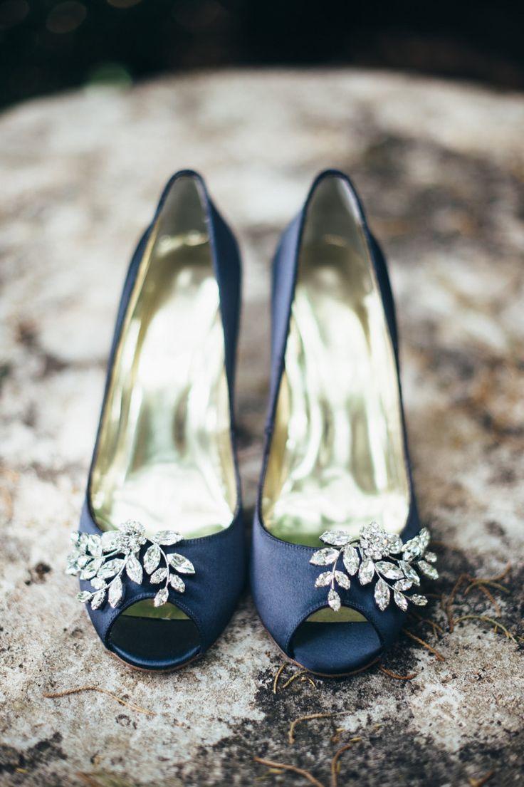 Blue Flat Wedding Shoes Colors