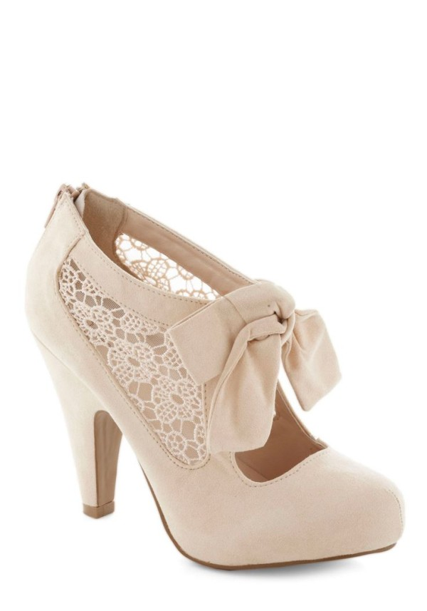 cheap vintage lace wedding shoes