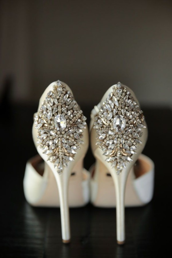 ivory silver wedding shoes ideas 2015