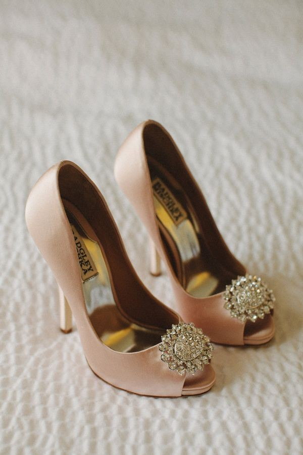 Pink Wedding Shoes Ideas