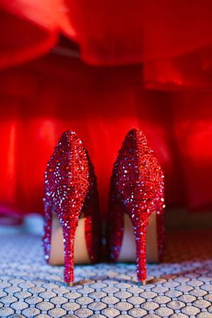 red wedding shoes for wedding