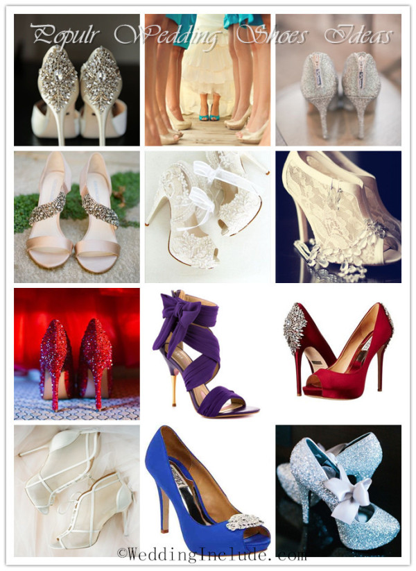 cheap yet popular wedding shoes for brides