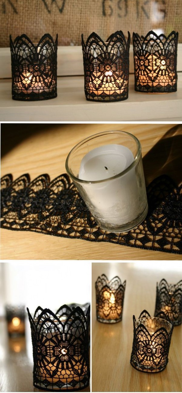 DIY Creative Candles Holders