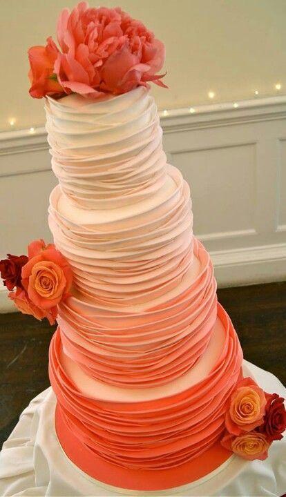 Orange Wedding Cake Ideas & Inspirations