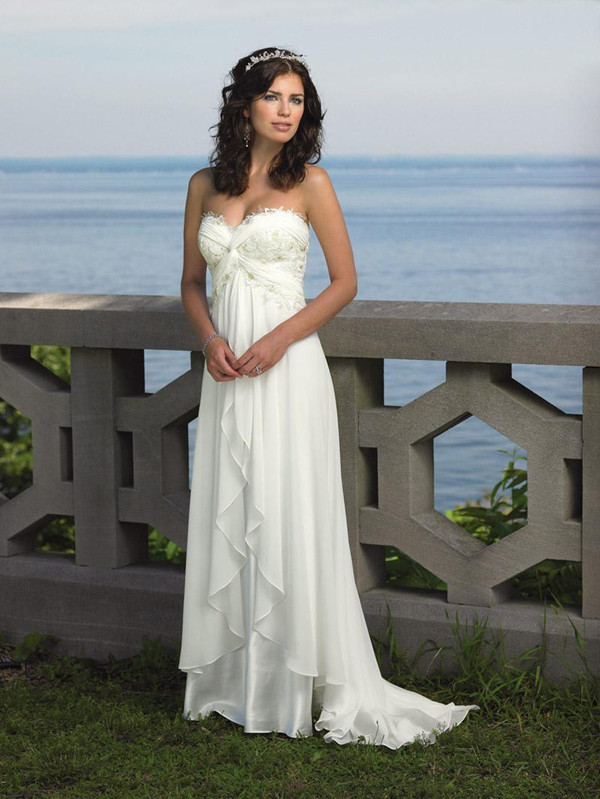 beach-wedding-dresses-gowns-informal-beach-wedding-dresses-glam-bistro