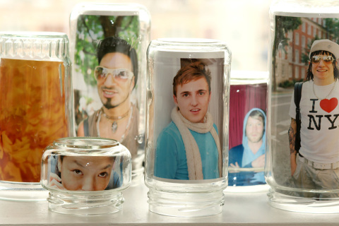 Diy wedding Mason Jar Frames