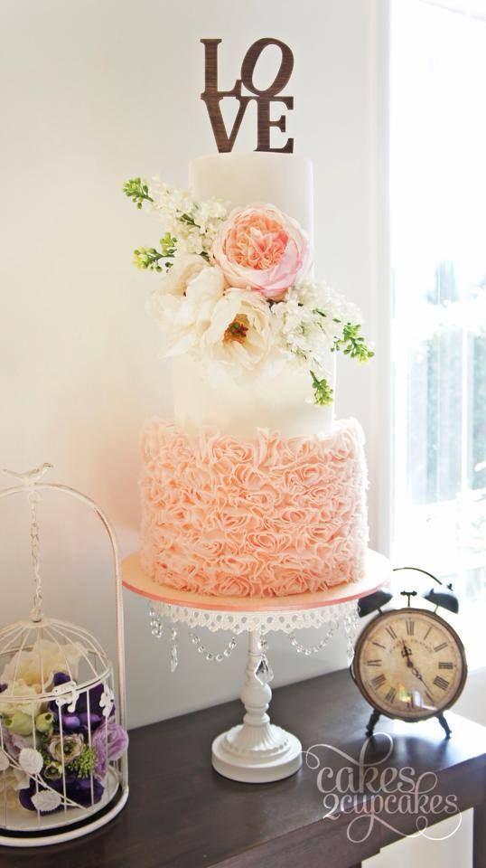 ombre Wedding Cake Inspiration