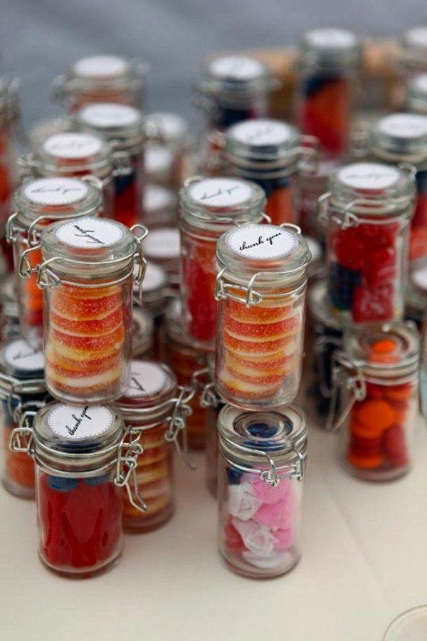 Candy Bottles wedding-favors