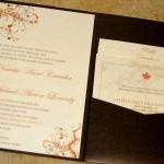 Amazing Rustic Fall Wedding Invitations