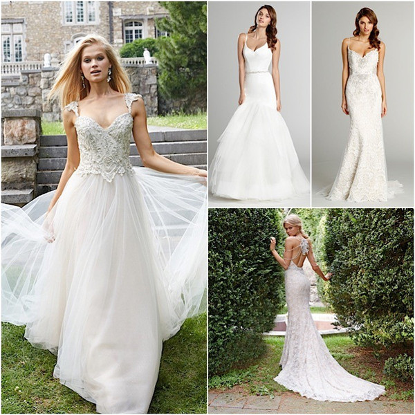 Alvina Valenta Wedding Dress For Fall Autumn