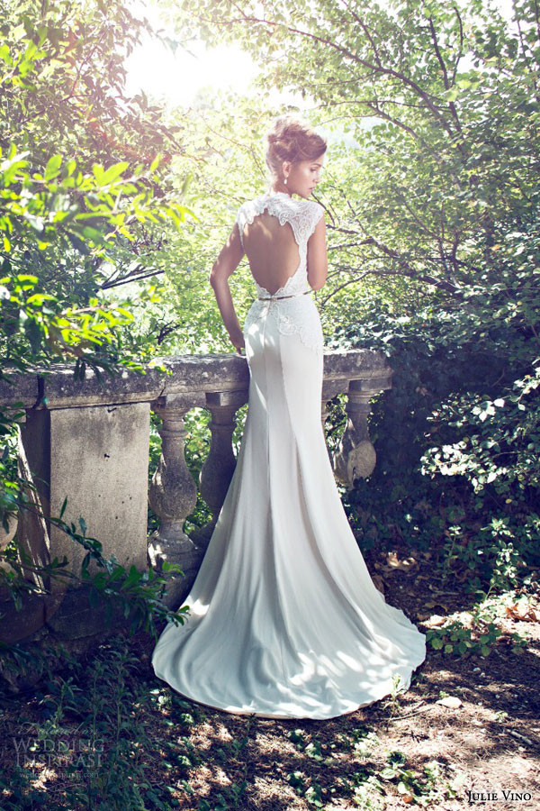 julie-vino-bridal-2015-fall-provence-grace-cap-sleeve wedding dresses