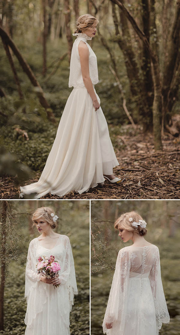 simple fall wedding dresses 2015