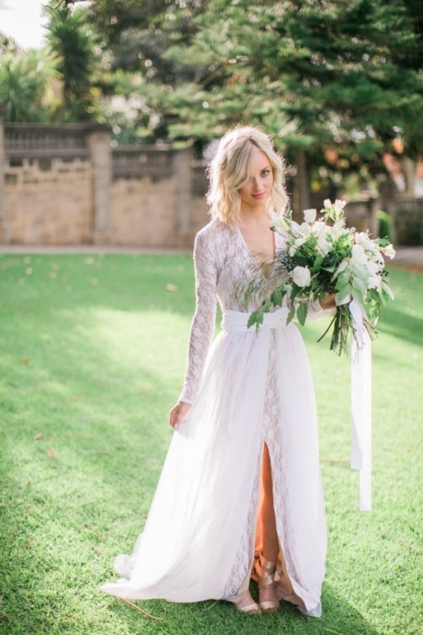Stunning long sleeve wedding dresses for fall wedding fall wedding dresses 2016 junglespirit Choice Image