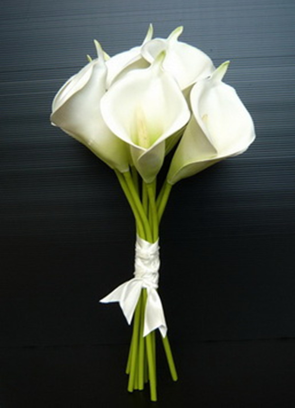 wedding flowers Calla Lily bouquet