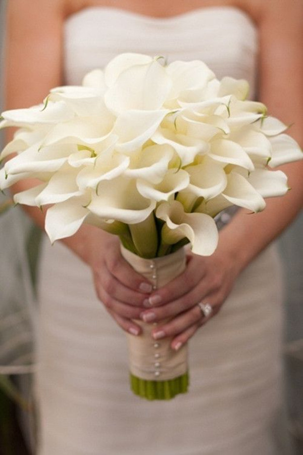 wedding flowers Calla Lily bouquet ideas