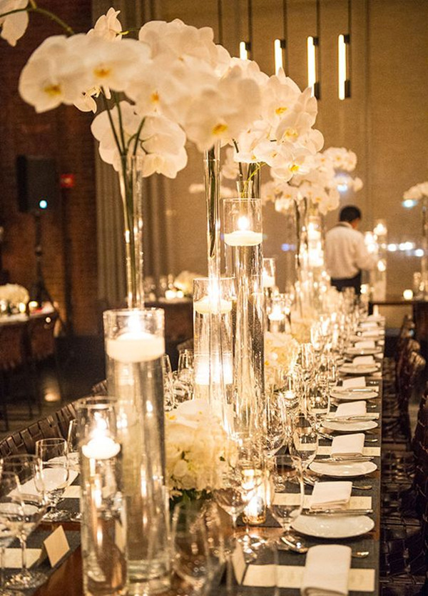 wedding flowers Orchids Centerpiece trends