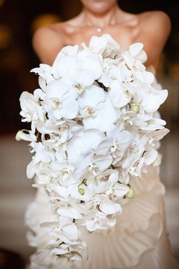 wedding flowers Orchids bouquet