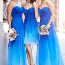 Ombre Bridesmaid Dresses by Sorella Vita