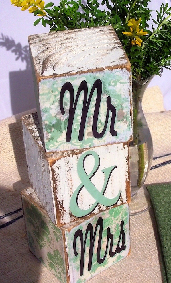 ... MR And Mrs Mint Wedding Decor Ideas