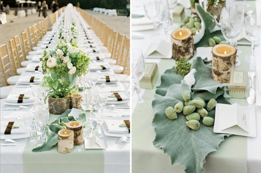 Superior Mint Green Wedding Table Decor