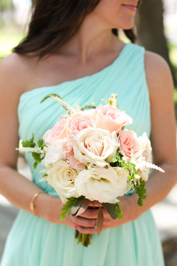 Mint Wedding - Bridesmaids Dress