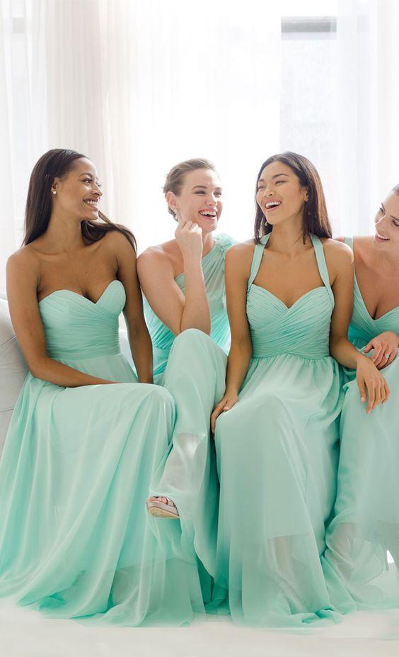 Mint Wedding - Bridesmaids Dress2