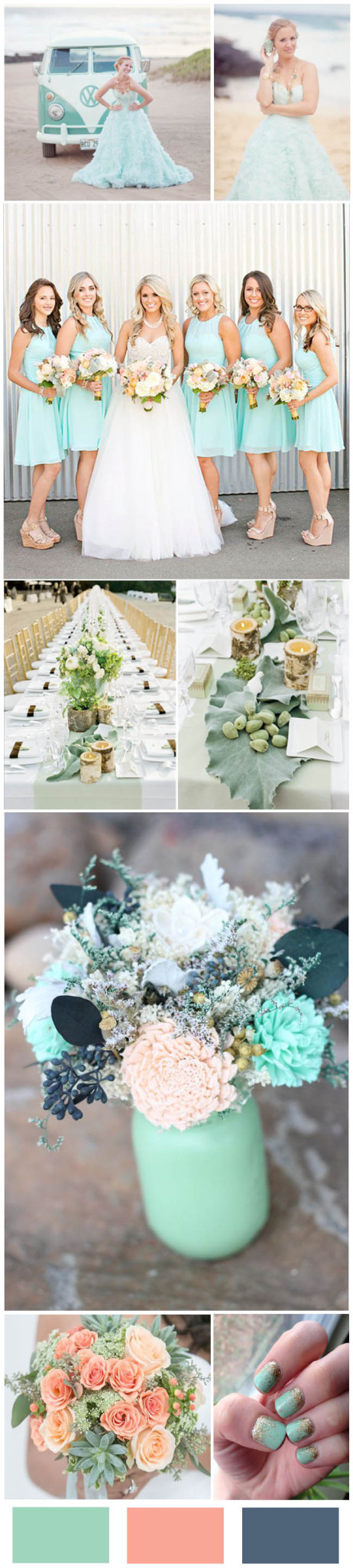 Mint Wedding Color Ideas For the Bride to Be