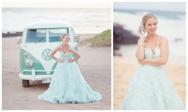 Mint wedding dresses3