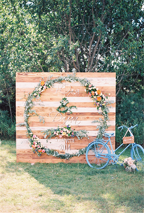 rustic and chalkboard Wedding Welcome Sign Ideas Your Wedding 10