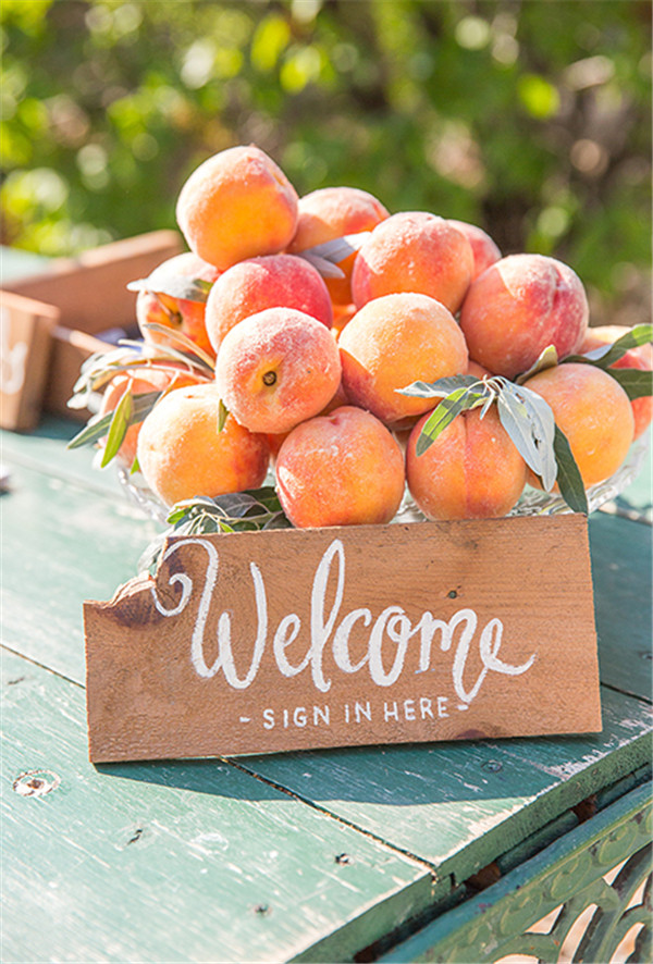 rustic and chalkboard Wedding Welcome Sign Ideas Your Wedding 11