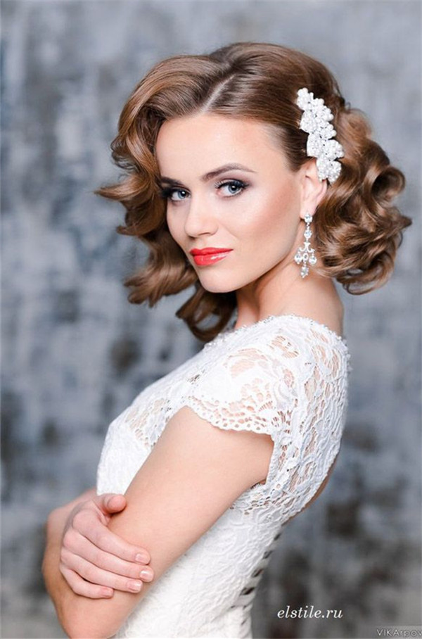 wedding hairstyles for short hair2