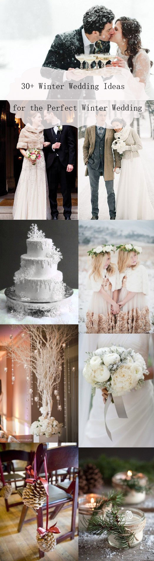 wedding ideas and themes 30 winter wedding ideas for the winter weddings 27960
