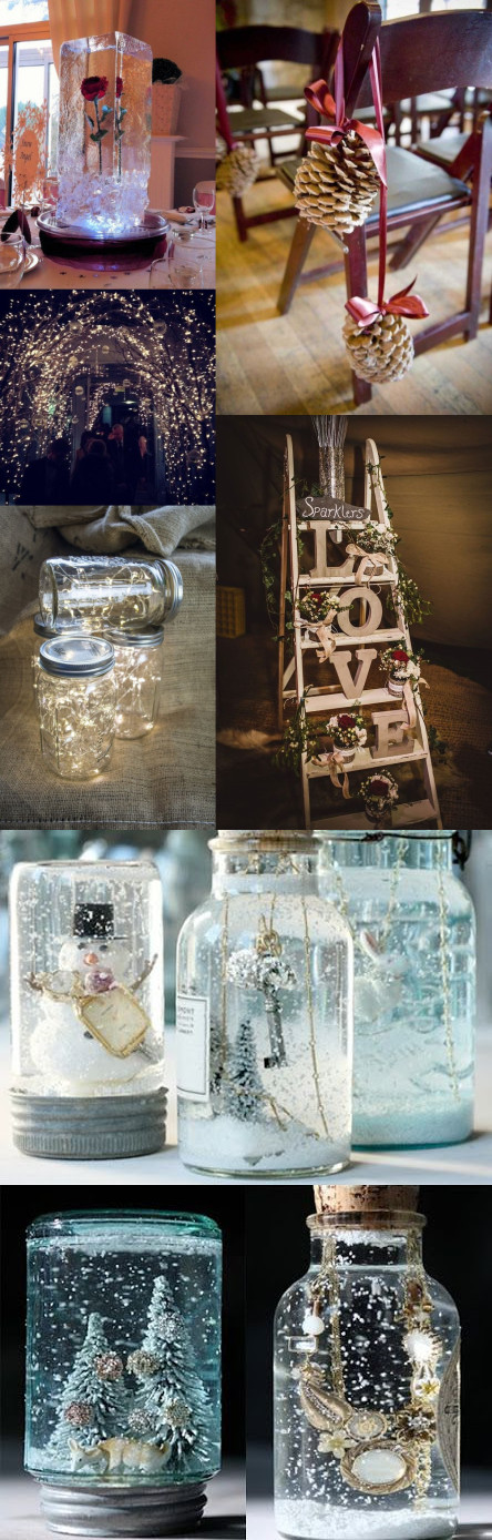 6 winter wedding decorations ideas