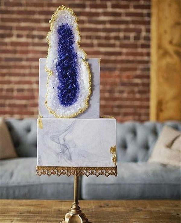 Geode-Wedding-Cake-Marble