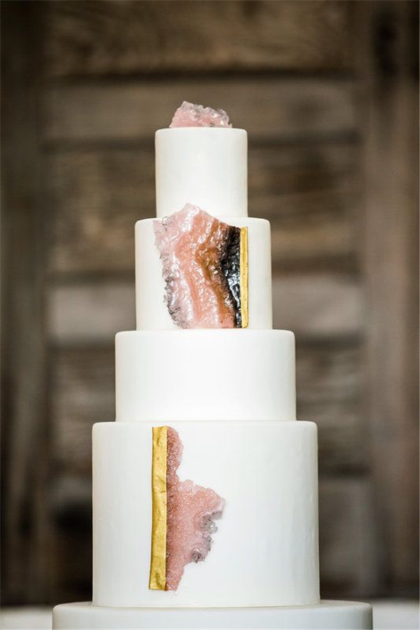 Sugar geodes and cake By Natasha Gaskill