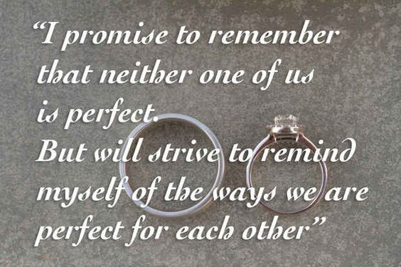 Traditional Wedding Vows Example Ideas 3