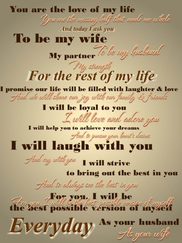 10 Funny Wedding Vows