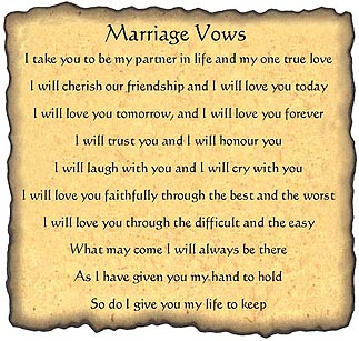 11 Funny Wedding Vows For Him