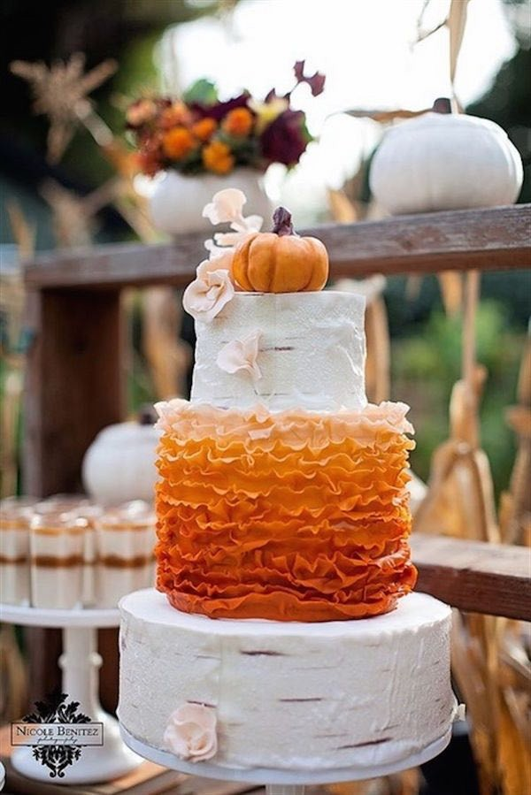 fall themed wedding cake ideas 20 rustic country wedding cakes for the fall wedding 14152