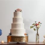 40+ Elegant and Simple White Wedding Cakes Ideas