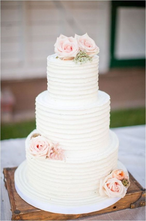 simple wedding cake designs with flowers 40 and simple white wedding cakes ideas page 3 20056