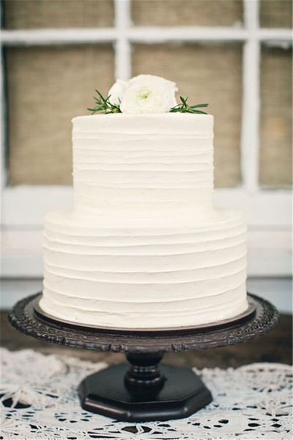 white simple wedding cake 40 and simple white wedding cakes ideas page 3 27321