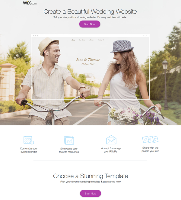 Create A Wedding Website.Top 10 Practical Free Wedding Website You Need To Know