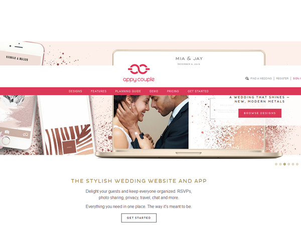 free wedding weibsite - appycouple