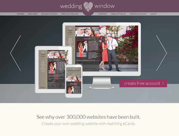 free wedding weibsite - weddingwindow