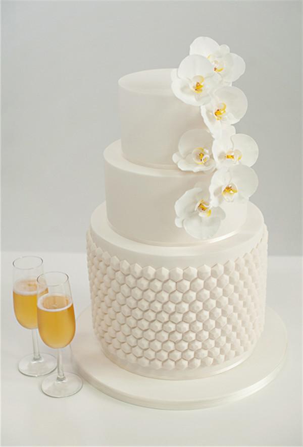 Trying Wedding Cake Samples